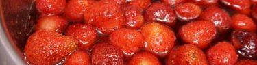 ひたひたのイチゴ