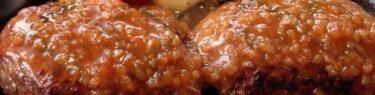 じゅわじゅわと肉汁があふれるハンバーグ