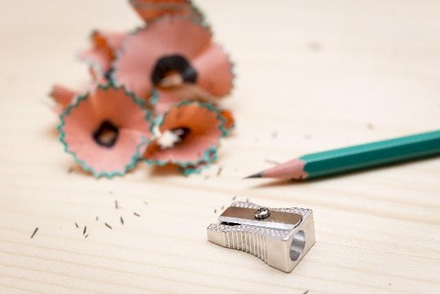 しゃっしゃっと削る鉛筆