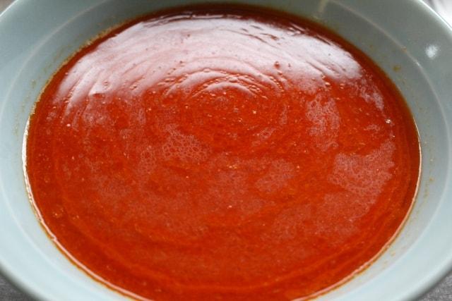 どろっとしたスープ