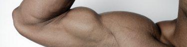 かっちかちの筋肉