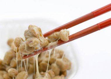 ねばねばの納豆
