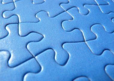 ぴったりとパズルのピースが合う