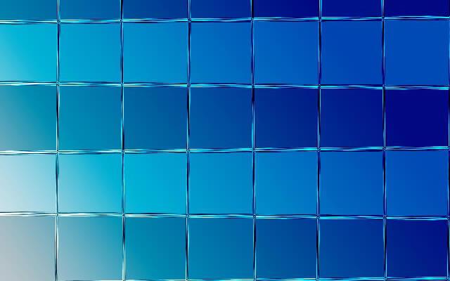 ひしひしと敷き詰められたガラス