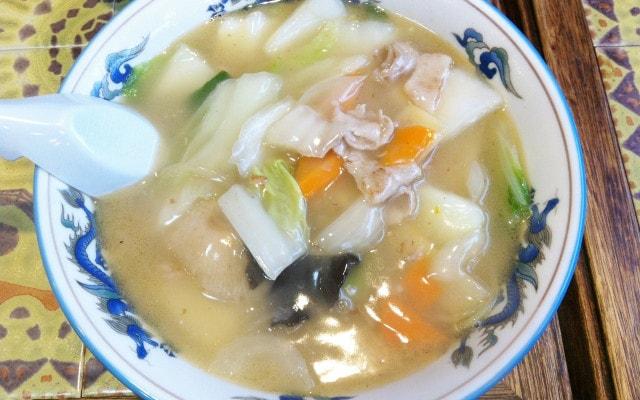 とろりとろりとしたスープ